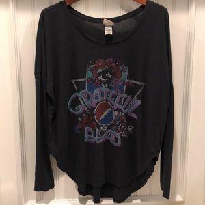 🌟Junk Food Grateful Dead black l/s T-shirt!
